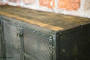 image is loading - Reclaimed Wood Media Console