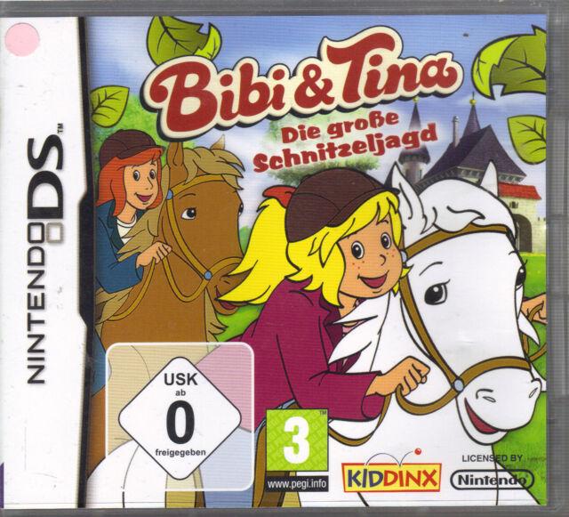 """"""" Bibi & Tina - Die große Schnitzeljagd """" ( Nintendo DS )"""