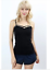 Seamless-Criss-Cross-Caged-Stretch-Sleeveless-Cami-Tank-Top-6-Colors-S-M-or-M-L thumbnail 5