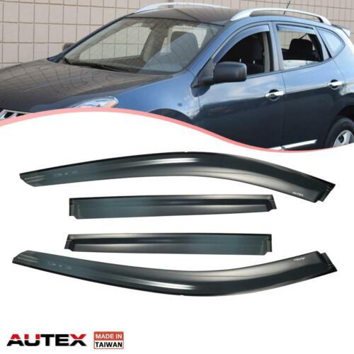 For Nissan Rogue 2014-on Full Set 4Pcs Original Window Deflector Visors Shade