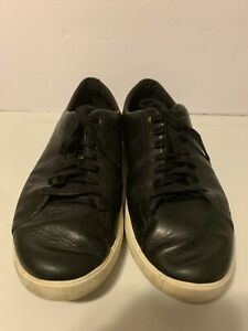 Cole Haan Grand OS Mens Black Leather Sneakers Shoes Size 10 M Lace Up