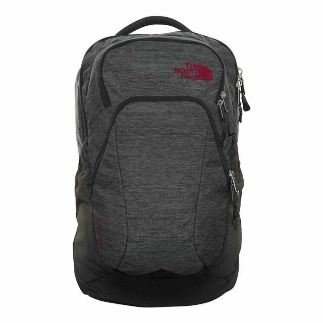 9114e76d6 The North Face Womens Pivoter Backpack - Asphalt Grey/Dark Heather/Dramatic  Plum