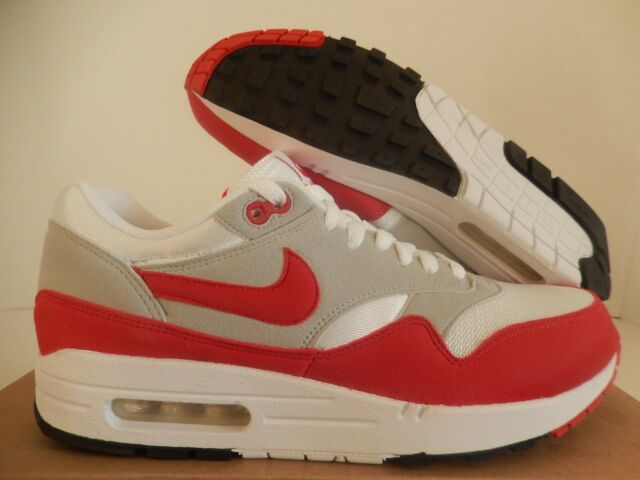 6cbe9dae0c ... coupon for nike air max 1 qs white sport red neutral grey black sz 9  71e50