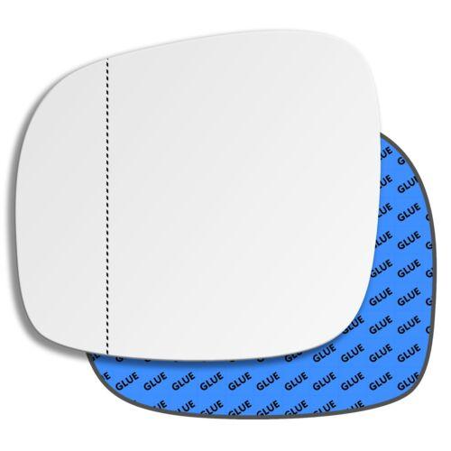Izquierda asphärisch lado del conductor cristal espejo para chrysler grand voyager 2008-2015