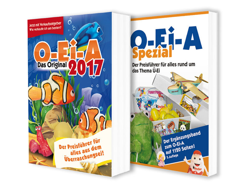 O-ei-a Pro-Bundle 2017 - o-ei-a 2017 and o-ei-a Spezial (5. Edition