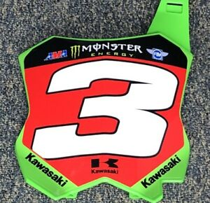 Eli-Tomac-2020-Monster-Energy-Supercross-Replica-Front-number-Plate-3-RED-PLATE