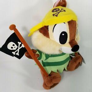 Chip-n-Dale-Pirate-Hong-Kong-Disneyland-Disney-Plush-NWT-with-tag-Chipmunk