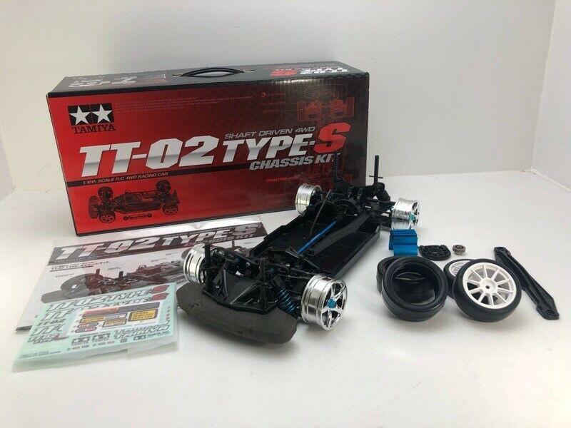 Tamiya TT-02 type-S limited rare Chassis nuovo tire RC  4WD  economico e di alta qualità