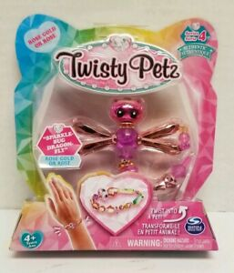 Twisty Petz Charmy Cheetah Twist From Pet To Bracelet Hot Easter Basket Toy Gift