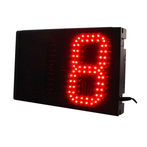 Red 6/'/' Large Digital 2Digits Laps To Go Timer LED Digital Counter With Buttons