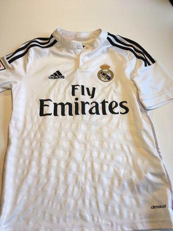 Fodboldtrøje, Real Madrid-Adidas, str. 13-14 år