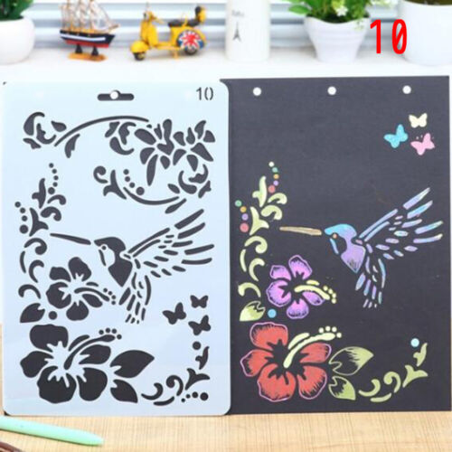 1pc Stencils Walls Painting Decorative Embossing Paper Cards DIY Craft Ornamnets