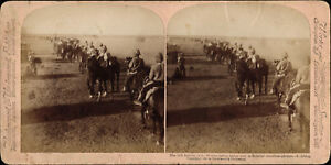 Stereoview-Boer-War-The-38th-Battery-at-the-Modder-River-South-Africa-1900