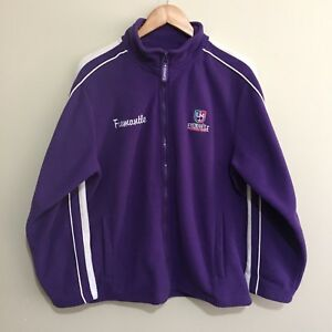 Fremantle-Dockers-Official-AFL-Full-Zipper-Windcheater-Jumper-Purple-Womens-16