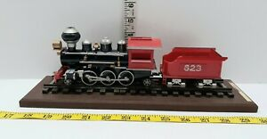 Locomotive Display On Track With Tender 623 Car Graves Track