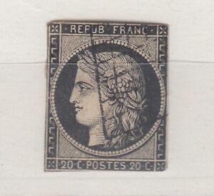 FRANCIA-1849-CERES-20c-VFU-J5212