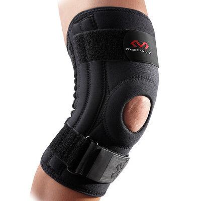 Accurato Ginocchiera Tutore Neoprene Mcdavid Knee Support Laterali Semirigidi Stabilizza Garanzia Al 100%