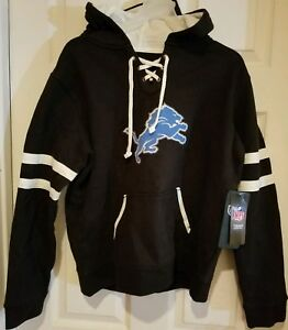 OTS NHL Womens Grant Lace Up Pullover Hoodie