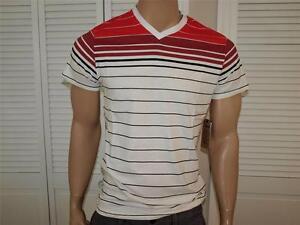 Company-81-a-Righe-Scollo-V-T-Shirt-Nwt-C2302113