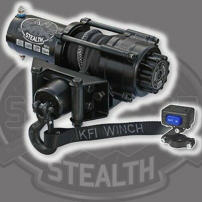 ARCTIC CAT WILDCAT TRAIL SE25 KFI SERIES STEALTH WINCH 2500 LB CAPACITY #10-0201