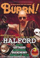 Burrn! Heavy Metal Magazine March 2001 Japan Halford AC/DC Dio Anthem Gotthard