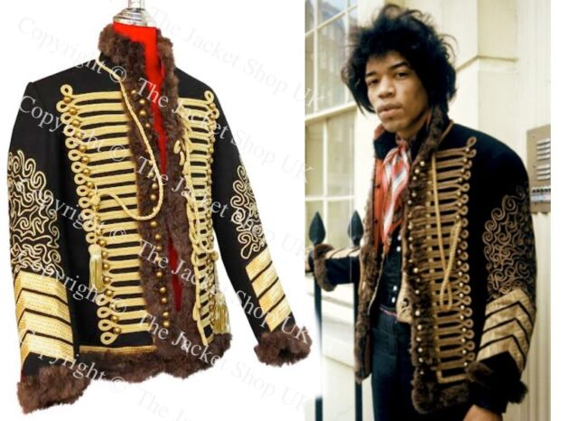 Jimi Hendrix Jacket - (Exact Replication)