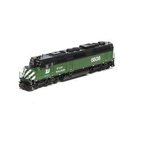 HO-Scale-Athearn-Genesis-25317-Utah-Railway-F45-6608-w-SOUND-amp-DCC