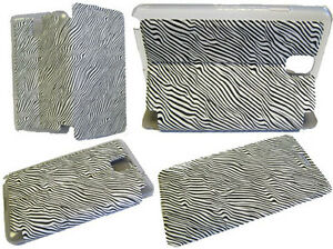 Zebra-Wallet-Cover-Pouch-Case-For-Samsung-Galaxy-Note-3-III-GT-N9000-N9005-White