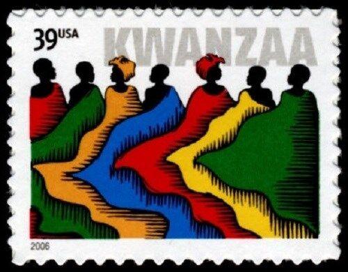 2006 39c Kwanzaa, Holiday Celebration Scott 4119 Mint F