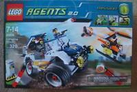 Lego Agents 8969 4-wheeling Pursuit Sealed Set