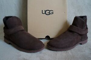 0d21b24734a Details about UGG MCKAY SUEDE / SHEEPSKIN BOOTS, US 9.5 Womens, Color:  CHOCOLATE 1012358