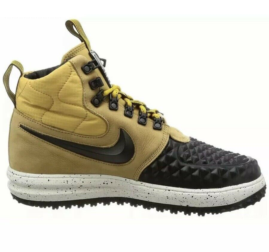 Men's Nike LF1 Duckboot ´17 Casual shoes Metallic gold Black 916682 701 Size 9