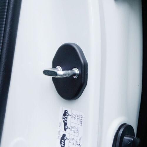 4pcs Car Door Lock Protective Cover Trim For Mazda CX-5 CX5 2013-2018