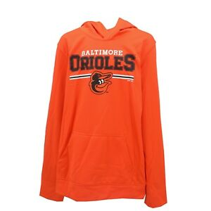 Baltimore-Orioles-MLB-Genuine-Kids-Youth-Size-Athletic-Hooded-Sweatshirt-New