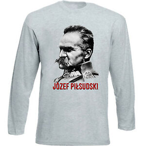JOZEF-PILSUDSKI-NEW-COTTON-GREY-TSHIRT