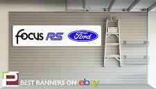Ford Focus RS Mk 1 Workshop Garage Banner PVC Sign