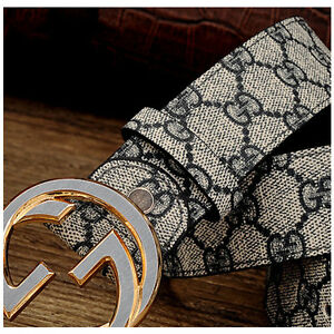 New-High-Quality-Men-Belt-Cowskin-Leather-Smooth-Buckle-Women-Waist-Belts
