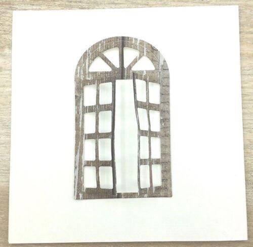 Stanzschablone// Cutting dies Fenster zum Öffnen fgeeignet für Big Shot