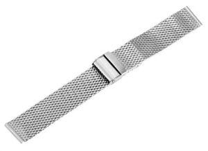 Milanaise-Edelstahl-Uhren-Armband-Uhrband-Uhr-Band-silber-12-14-16-18-20-22-24