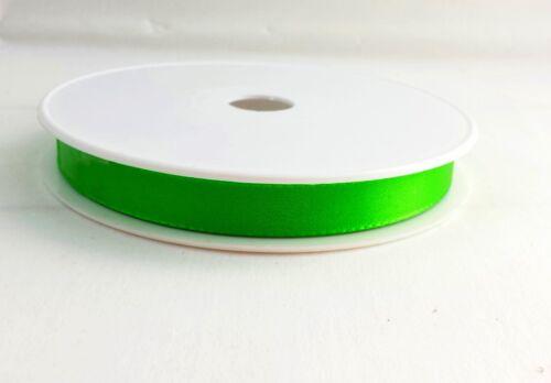 (0,33€/m) 3m Schleifenband grün Antennenschleifen Dekoband 15mm