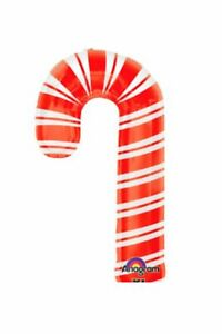 XL-37-034-Candy-Cane-Christmas-Mylar-Foil-Balloon-Super-Shape-Party-Decoration