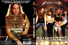 Metallica - Welcome Home Coliseum (1986, DVD) LIVE Cliff Burton