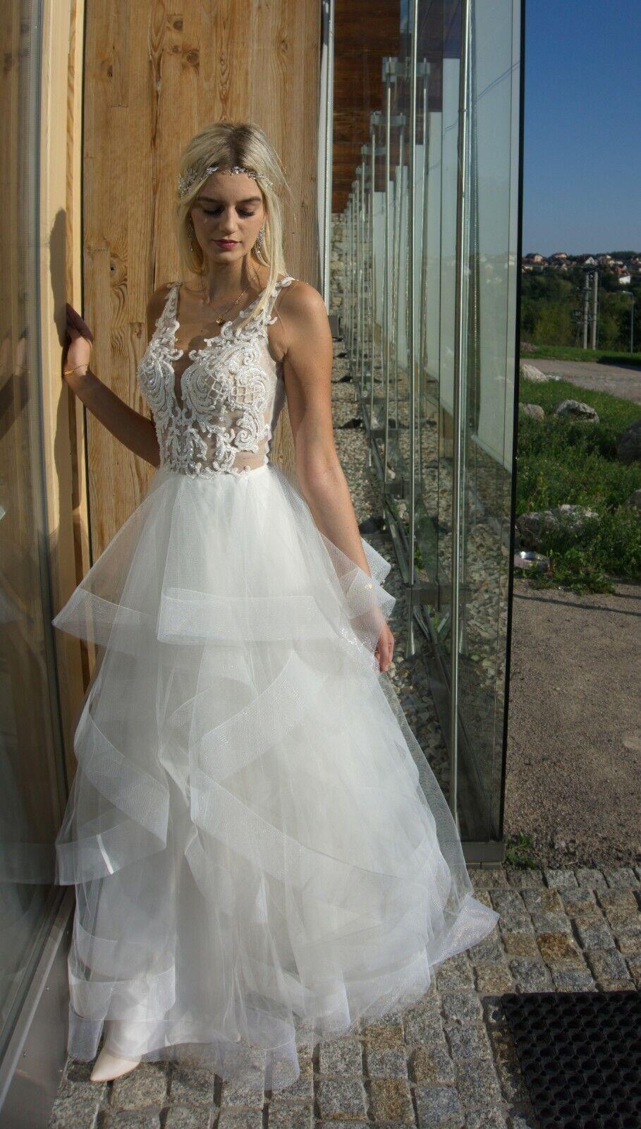 CITAL Wedding Dress Laces Polish Product HANDMADE