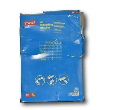 Laminating Pouches A6 250 Micron Pack of 100 Sheets