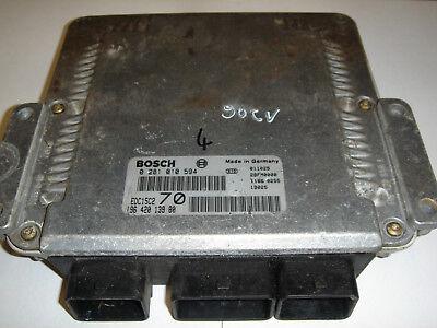 calculateur bosch edc15c2 70 206 2.0 hdi décodé 0281010594