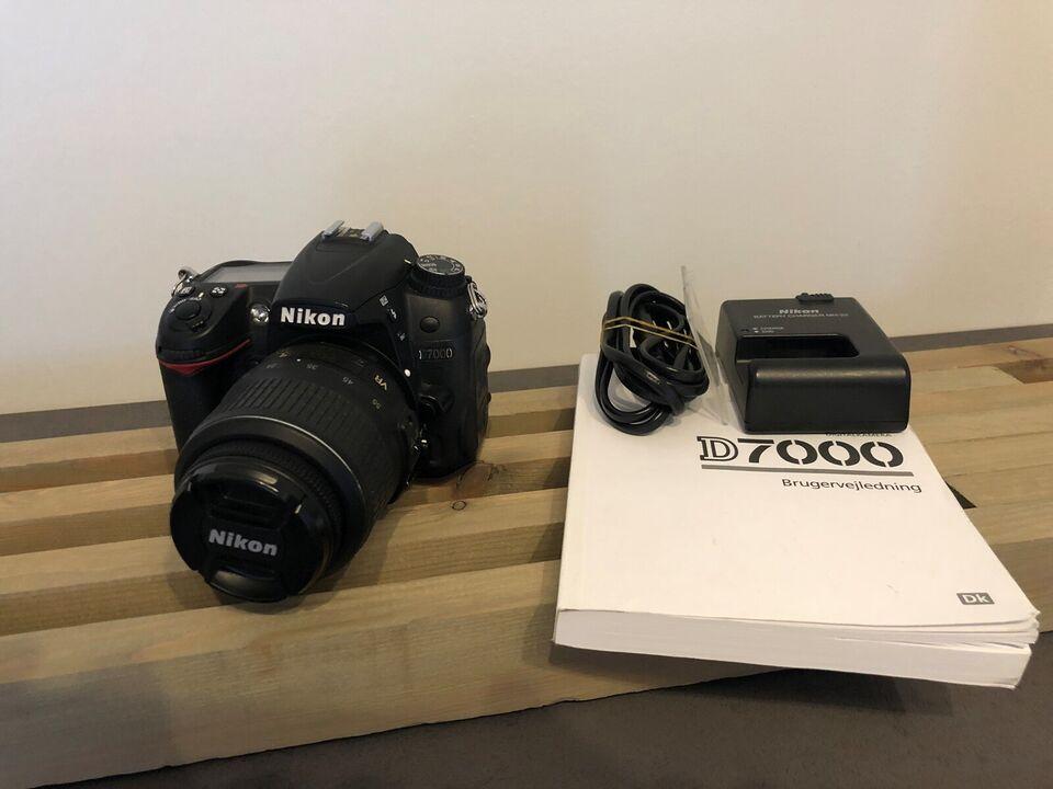 Nikon D7000, 16,2 megapixels, Perfekt