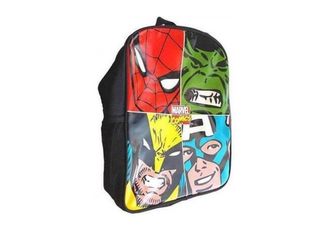 Borsa a Tracolla Cartella Avengers Marvel Scuola Tempo Libero 40 x 30 x 10 cm