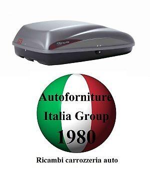 BOX BAULE PORTATUTTO PORTABAGAGLI TETTO AUTO G3 MOD KRONO 320