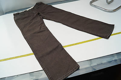 BRÜHL Herren Men stretch Comfort Jeans Hose Gr.52 stone wash braun TOP #28