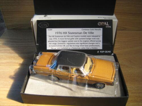 TRAX OPAL Series TO09   HOLDEN HX  STATESMAN  Contessa Gold   FREE POSTAGE